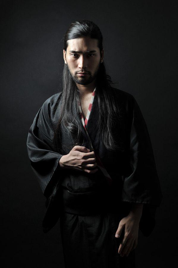 Peignoir Homme Soie Kimono